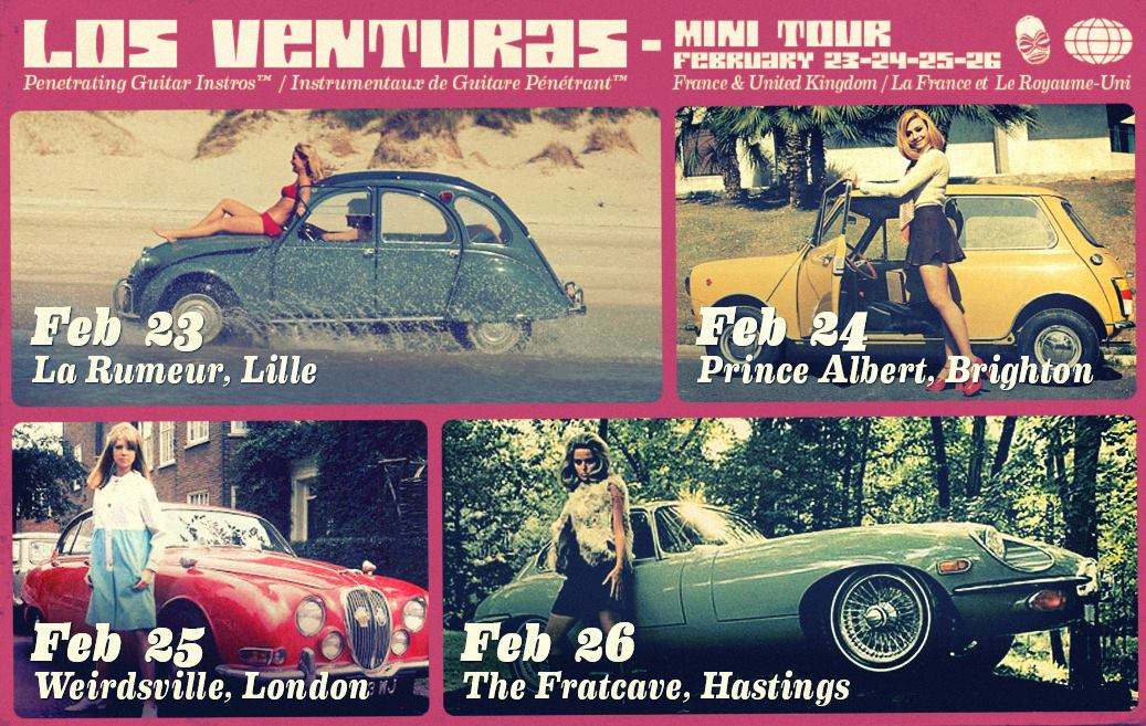 Los Venturas UK Tour February 2017