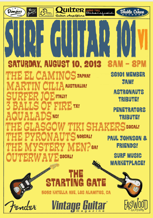 Surf Guitar 101 Convention vol6 2013