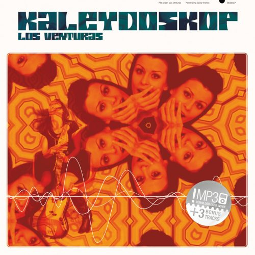 "Los Venturas ""Kaleydskop"" LP Green Cookie records 2011"