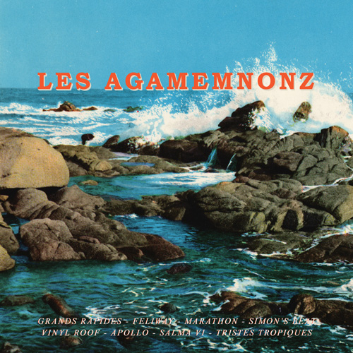 "GC037: Les Agamemnonz ""s/t"" (10"") 2013 Green Cookie records"