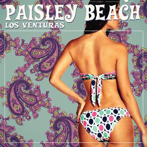 """GC034 """"Paisley Beach"""" Los Venturas Green Cookie records 2013"""