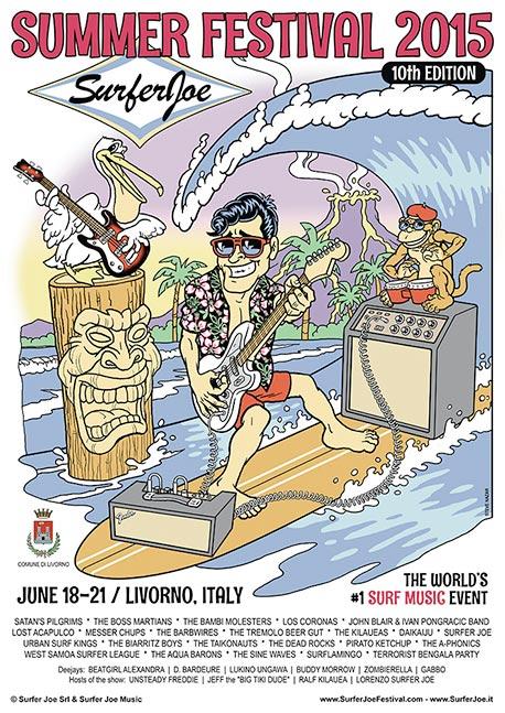 Surfer Joe Summer Festival 2015