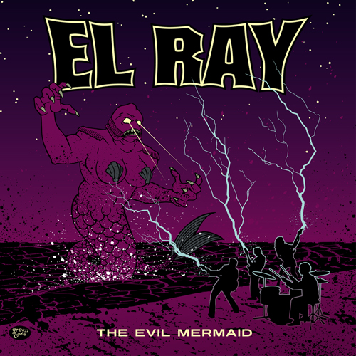 "GC042: El Ray ""The Evil Mermaid"" (10"") 2014 Green Cookie records"